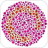 Color blindness test icon2